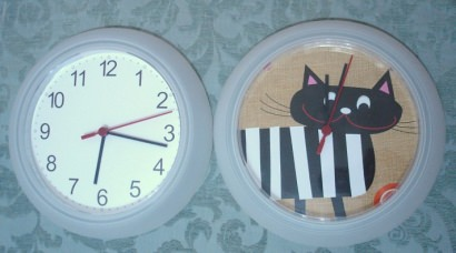 Transformando la esfera de un reloj / Clock Relooking