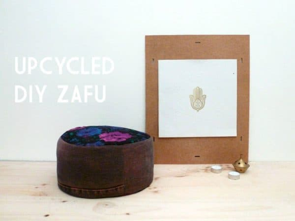 Upcycled Zafu O Meditation Pillow Do-It-Yourself Ideas