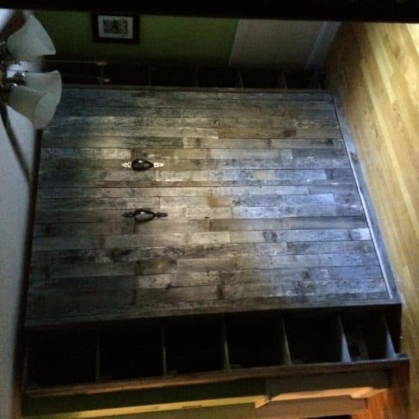 Pallet Wood Murphy Bed Recycled Pallets