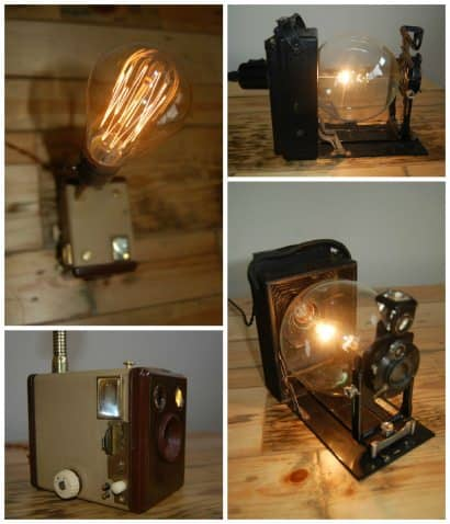 Bellows Cam Light & Brownie Box Cam Light