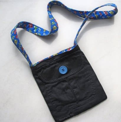 DIY: Upcycled Pocket Bag