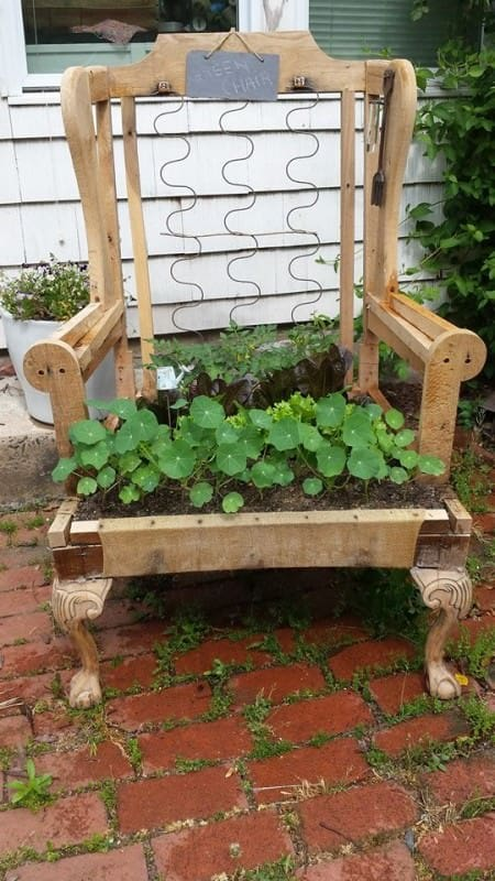The Green Chair Garden Ideas