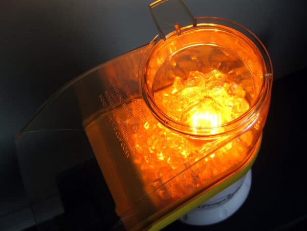 Lamp Made Out Of A Discarded Popcorn Maker Lamps & Lights