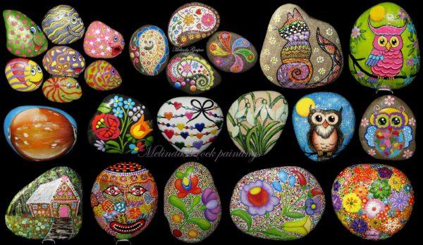 My Art On Rocks Recycled Art