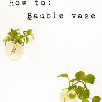 Bauble Vase