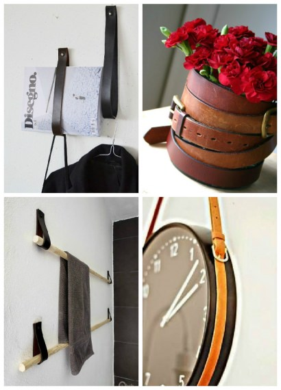 Creative Uses For Old Leather Belts