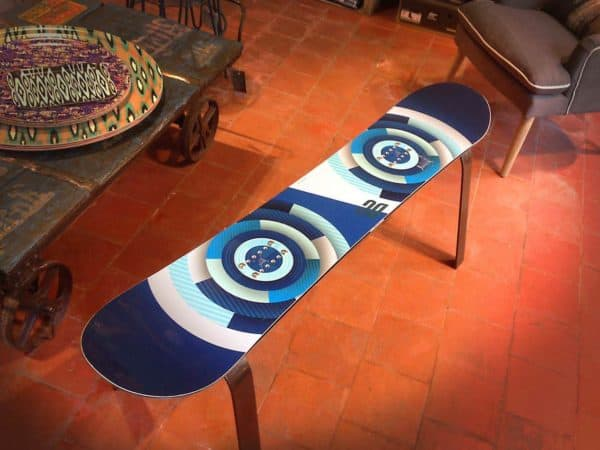 Upcycled Snowboard Benches Recycled Furniture
