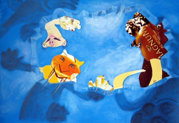 Ice Age Ii - Don't Make Me Eat You! Recycled Art