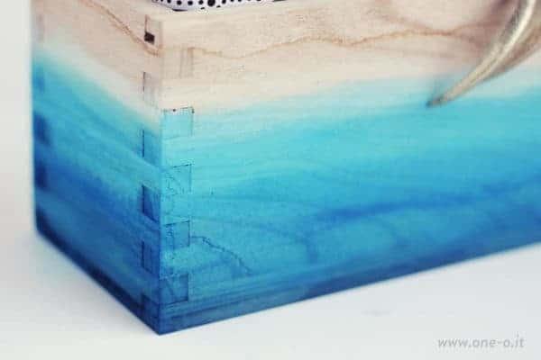 Diy: Ombre Watercolored Box Accessories