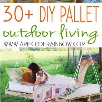 Pallet Alfresco: 30+ DIY Outdoor Pallet Projects