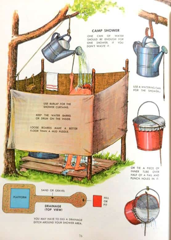 16 diy outdoor showers for this summer recycled ideas - How to make an outdoor shower ...