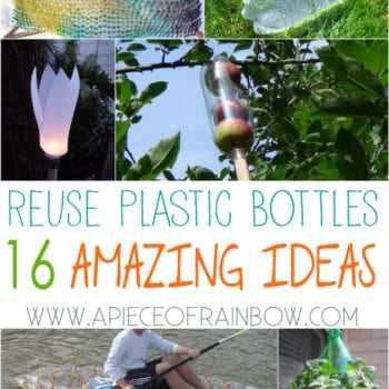 16 Amazing Plastic Bottle Reuse For Home & Garden