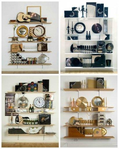 Bookshelf Sculptures