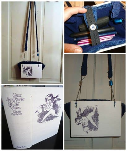 From Book To Purse:  A Thrifty Upcycle