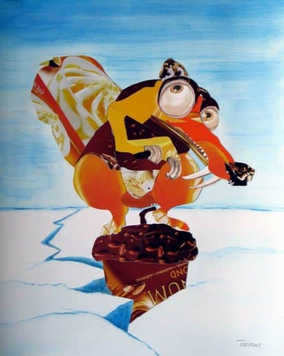 Fun Age – Scrat (Eis im Hoernchen) From Ice Age