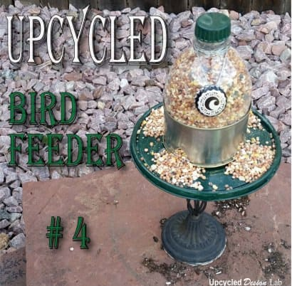 Back To The Drawing Board – Upcycled Bird Feeder # 4