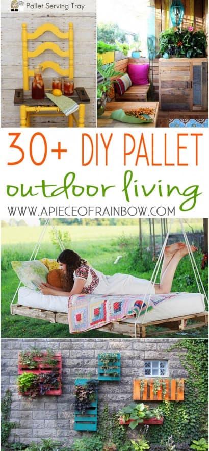 Pallet Alfresco: 30+ DIY Outdoor Pallet Projects