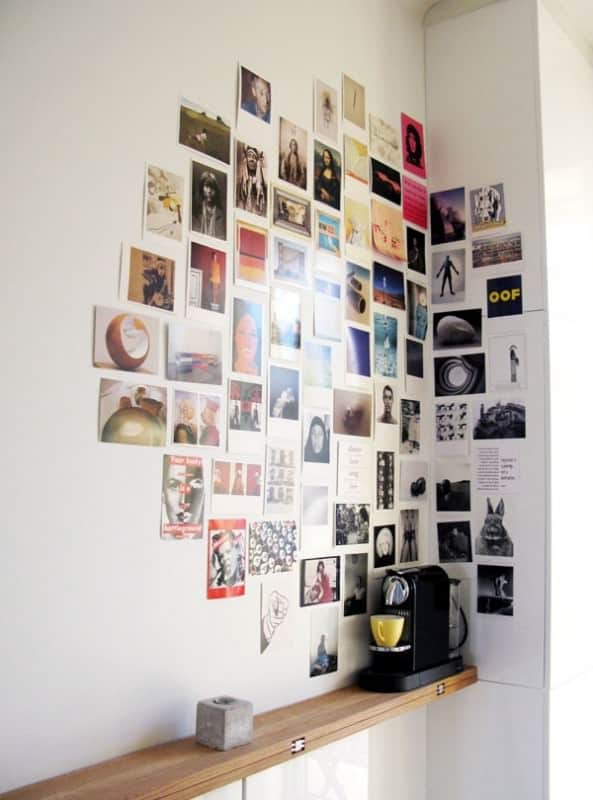 Ideas Of Decoration Made From Old Postcards Do-It-Yourself Ideas Recycling Paper & Books
