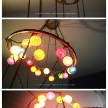 Bicycle Chandelier