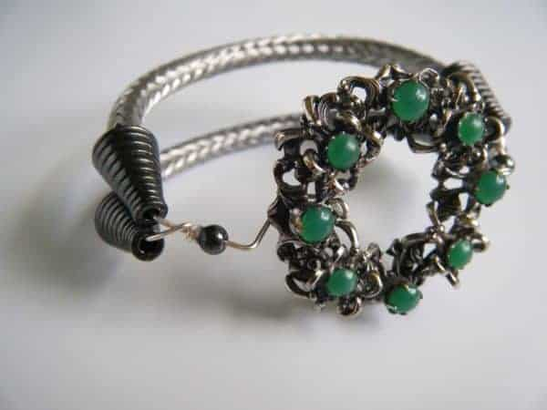 Up-cycled TV Cable Into Jewelry Upcycled Jewelry Ideas