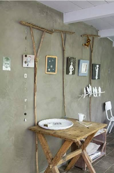 How To Reuse A Humble Rake Into Your Interior Design Do-It-Yourself Ideas Recycling Metal