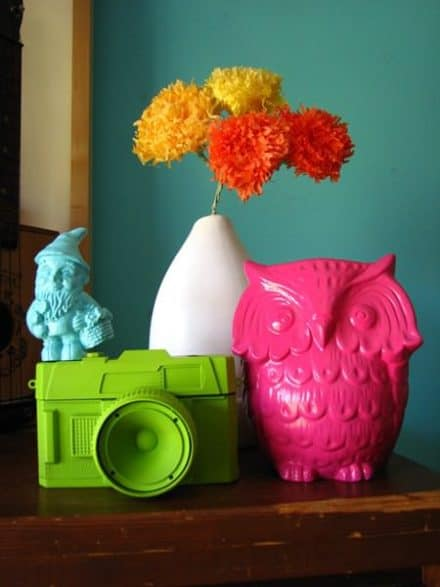 Refresh Old & Cheap Objects Using Spray Color