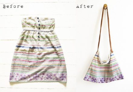 Old & Unused Dress To Bag