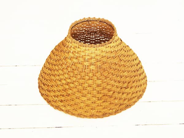 The Rattan Lamp Lamps & Lights Recycled Furniture