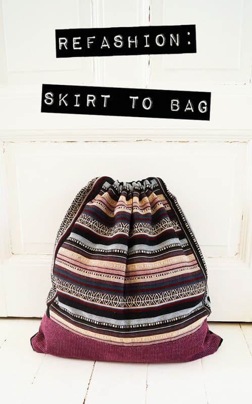 Skirt To Bag Clothing