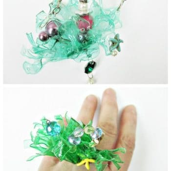 Summertime… Jewelry From Recycled Plastic Bottles