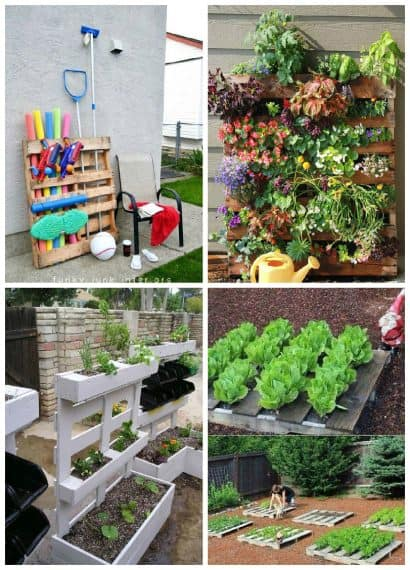 Easy Pallet Ideas For Your Garden Or Balcony