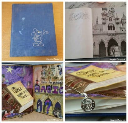 Upcycled Art Journal Book – Remember When You Believed In Magic