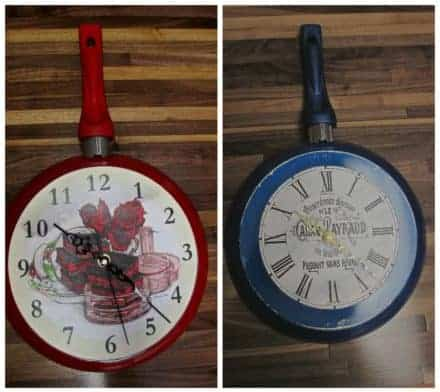 Upcycling Used Skillets Into Clocks
