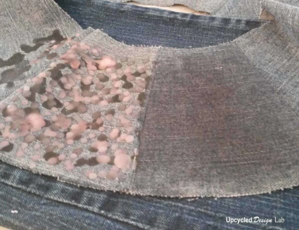 Men's Jeans to Wide Brim Hat with Faux Oil Cloth Finish Clothing Do-It-Yourself Ideas
