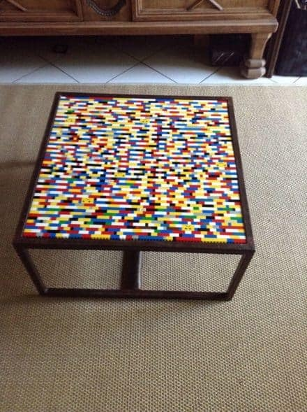 Table With Lego's
