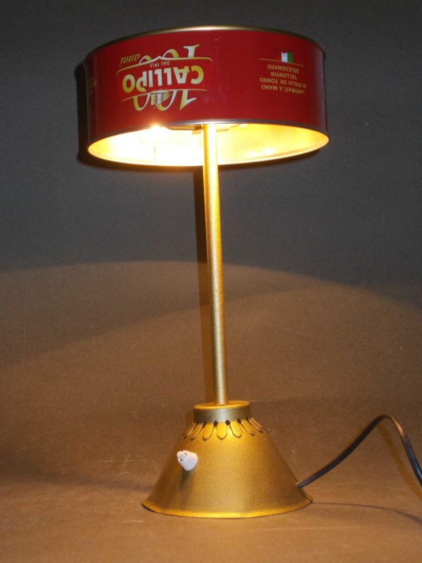 Tonno In Scatola / Upcycled Tuna Can Into Desk Lamp Lamps & Lights Recycled Packaging