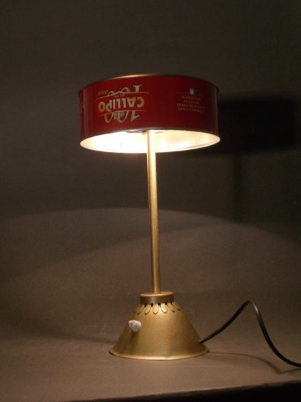 Tonno In Scatola / Upcycled Tuna Can Into Desk Lamp