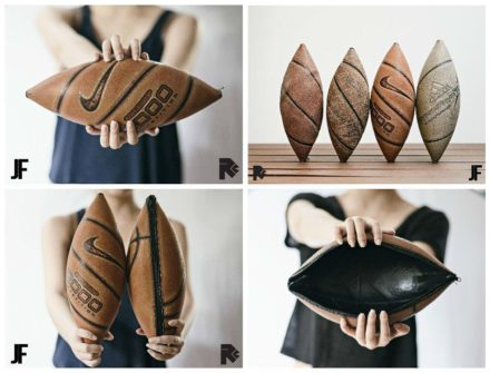 2nd Chance: Bags From Upcycled Basketball Balls