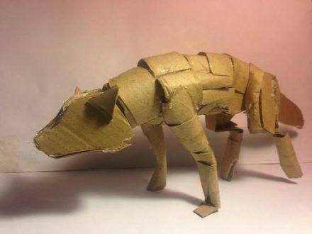 Haunton The Cardboard Wolf