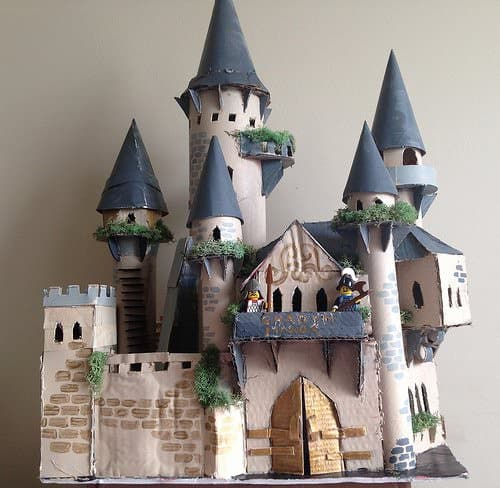 Ghadyn Manor Cardboard Castle Recycled Cardboard