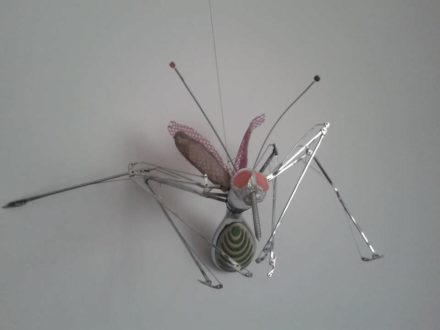 Charlie The Fly: Made From Discarded Materials