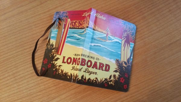 Hang Loose Cell Book From Repurposed Beers Packaging Recycling Paper & Books