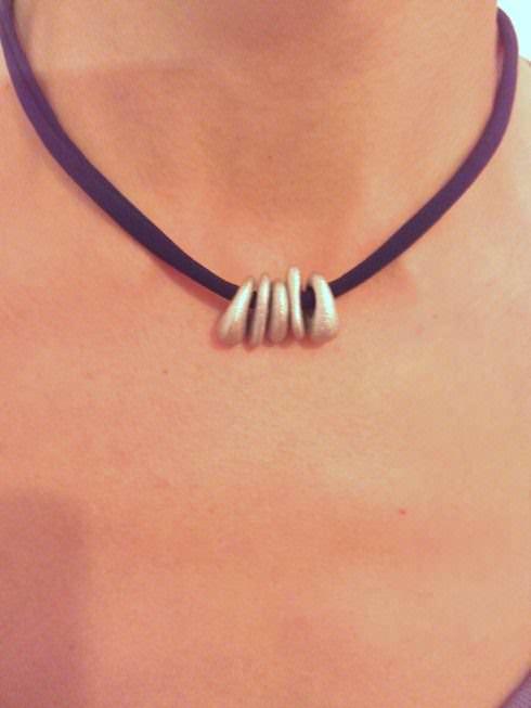 Reciclando Un Bikini (Pulsera Y Collar) / Necklace & Bracelet From Upcycled Bikini Clothing Upcycled Jewelry Ideas