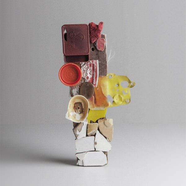 Abstract Assemblages Made From Flotsam & Found Objects Recycled Art