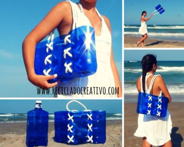 Bag Made With Recycled Plastic Bottles Accessories Do-It-Yourself Ideas Recycled Plastic