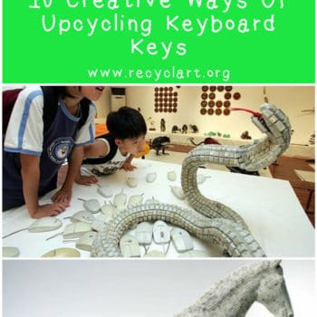10 Creative Ways Of Upcycling Keyboard Keys
