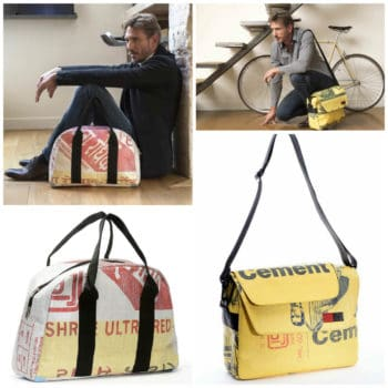 Recycled Cement Bags Into Sustainable Fashion