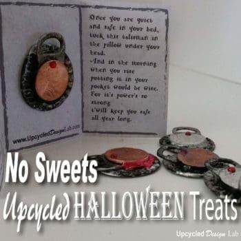 No Sweets Upcycled Halloween Treats