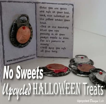 No Sweets Upcycled Halloween Treats