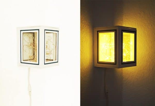 Lamp Made Out Of Picture Frames Lamps & Lights